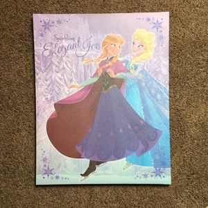 Disney Frozen Sisters Ice Skating Canvas